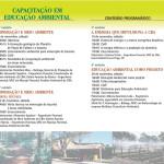 Folder Curso Educação Ambiental